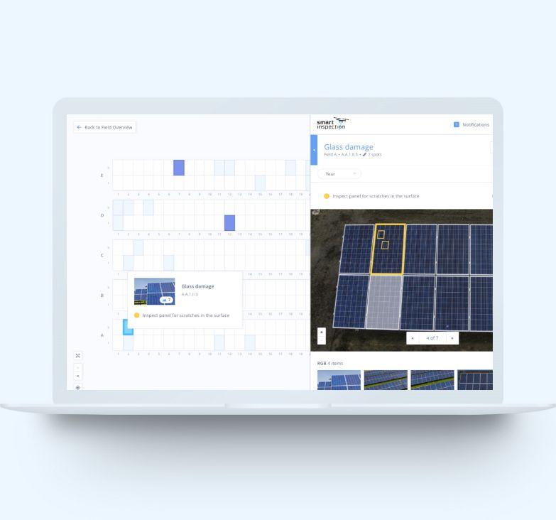 Screenshot Plattform PV-Überprüfung