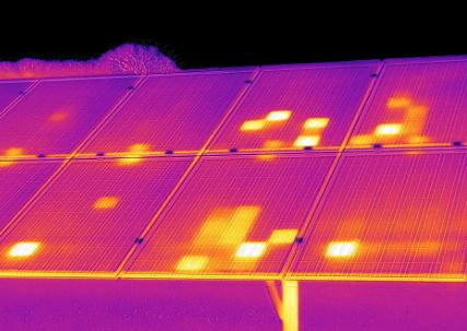 Photovoltaik Fehlerfoto