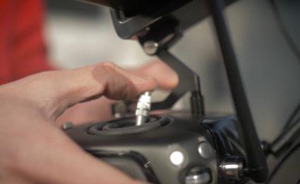 Fernsteuerung Drohne Nahaufnahme